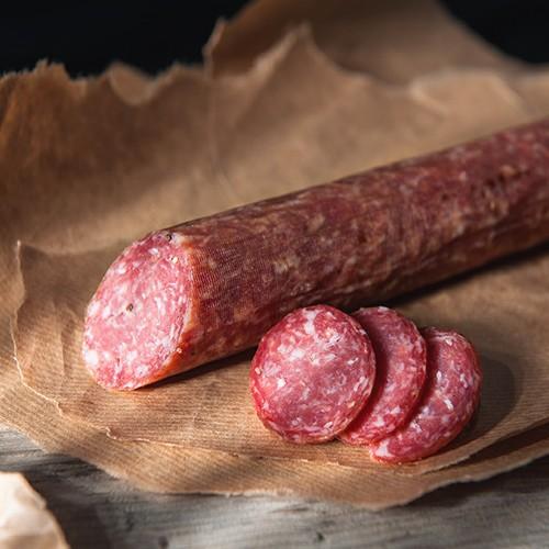 """Bio Schweinemettwurst, """"Hofbutjer"""", luftgetrocknet, klein"""