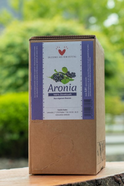 Aroniadirektsaft Bag in Box 3,00 l