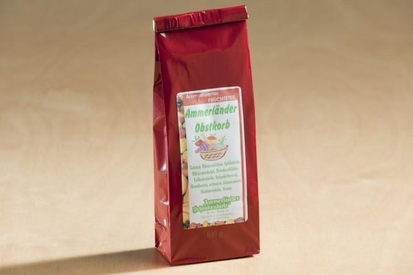 Ammerländer Obstkorb Tee, 100g Tüte