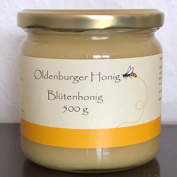 Oldenburger Raps Honig 500g
