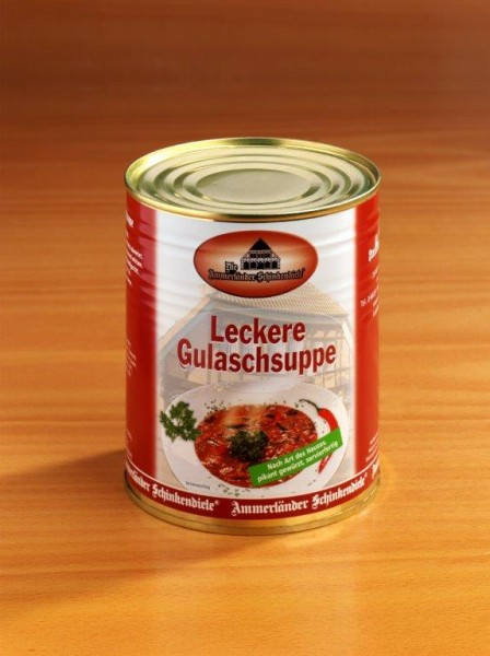 Delikate Gulaschsuppe | 800g Dose