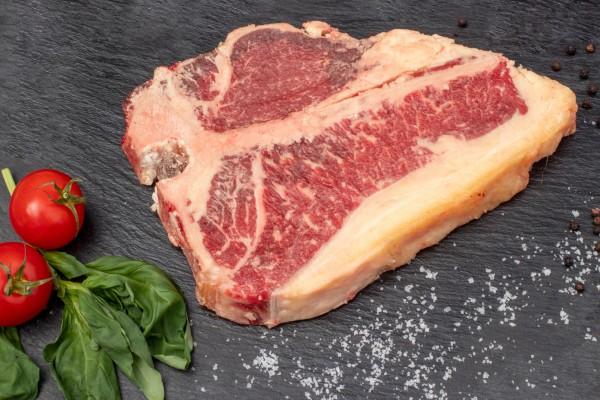 Galloway Porterhouse Steak DryAged