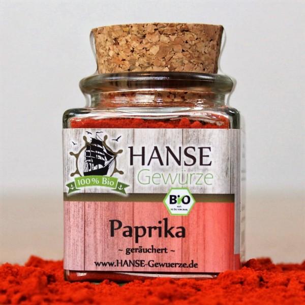 Gewürz BIO Paprika geräuchert