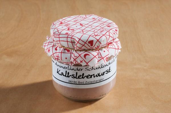 Kalbsleberwurst im 160g-Glas
