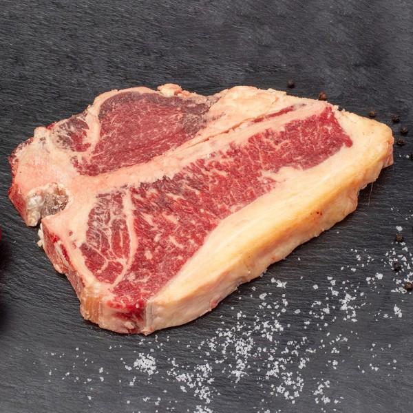 Simmenthaler Fleckvieh Porterhouse Steak