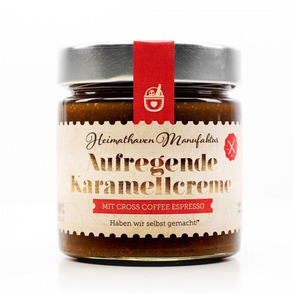 Aufregende Karamellcreme mit Cross Coffee Espresso / 225g