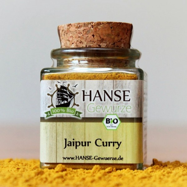 BIO Jaipur Curry, Gewürzmischung