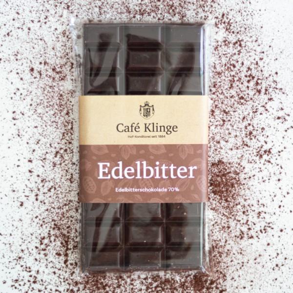 Edelbitter Kakaogehalt 70%