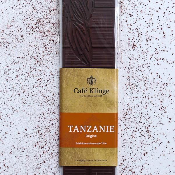 TANZANIE - Edelbitterschokolade 75%