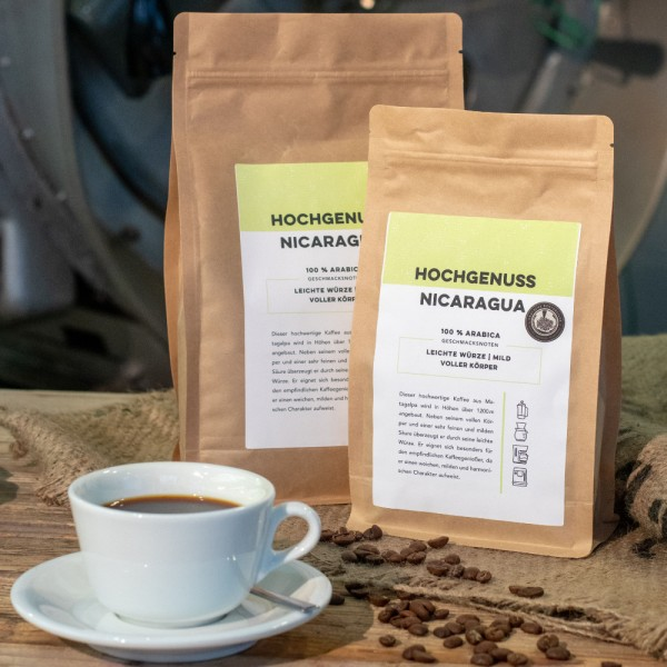 Kaffee Hochgenuss-Nicaragua