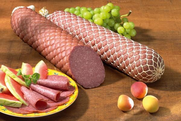 Echte Salami (nach Mailänder Art) - halbes Stück 1000 g
