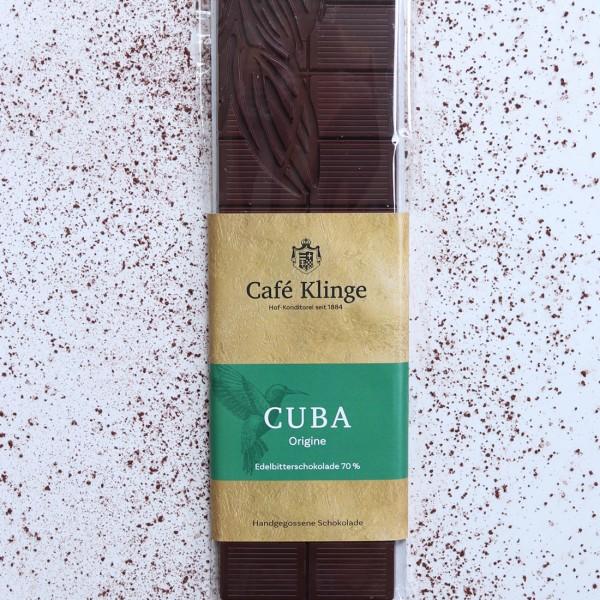 CUBA - Edelbitterschokolade 70%