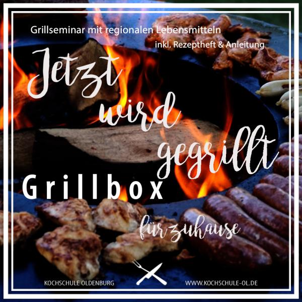 Die GRILLBOX, der Grillkurs für zuhause!