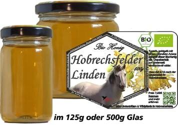Bio-Honig Hobrechtsfelder Linden