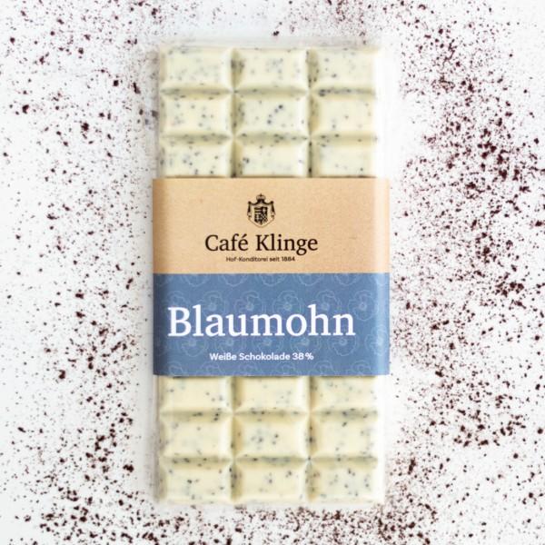 Weiße mit Blaumohn Kakaogehalt: 38%