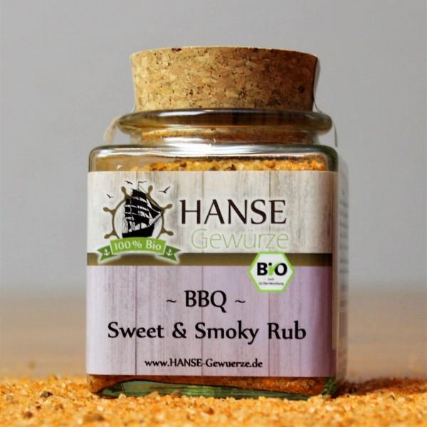 Gewürzmischung, BIO BBQ Sweet & Smoky Rub
