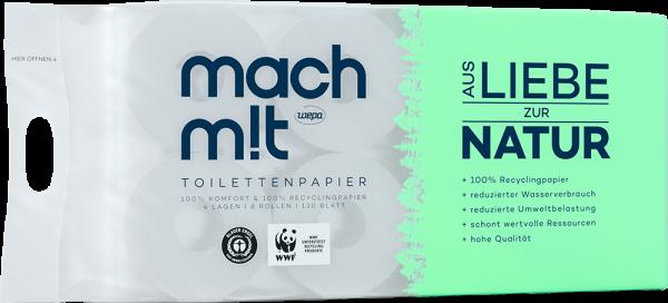 Mach Mit Toilettenpapier von Wepa