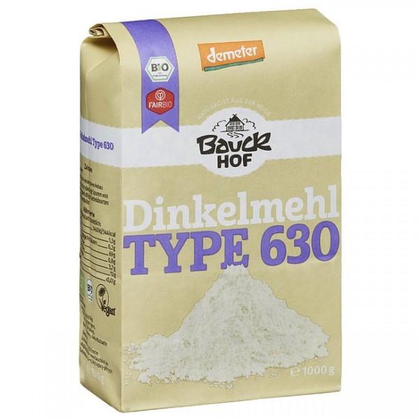 Dinkelmehl Typ 630 vom Bauck Hof