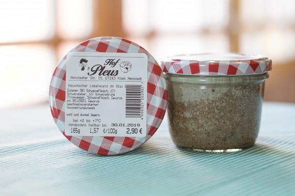 Feine Leberwurst im Glas