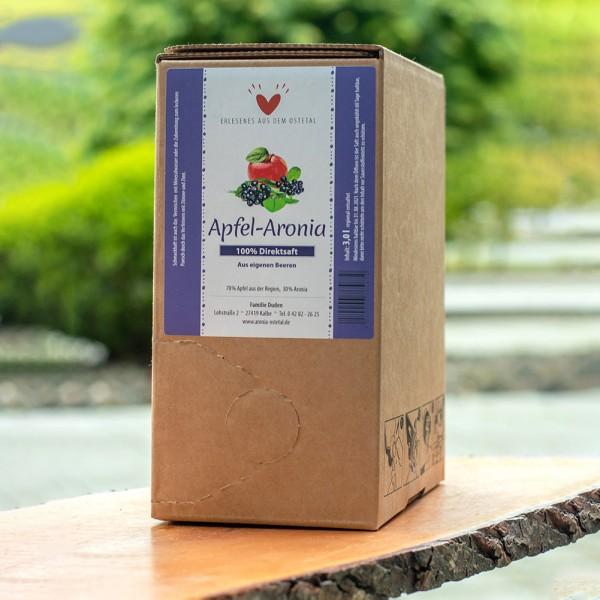 Apfel-Aroniadirektsaft Bag in Box