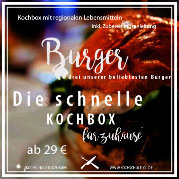 Die schnelle Kochbox | Burger