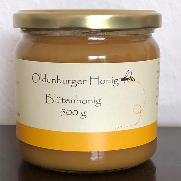 Oldenburger Sommertracht Blütenhonig 500g
