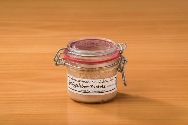 Geflügelleber-Pastete mit Portwein im 180g-Bügelglas