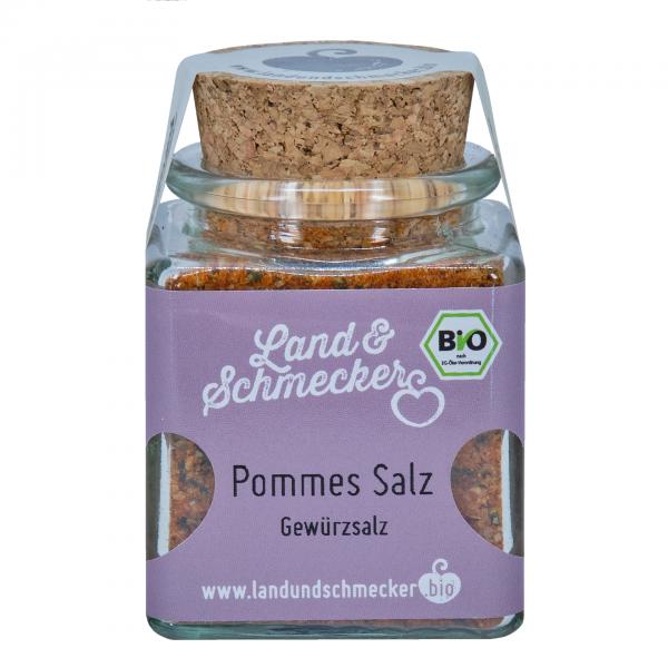 Bio Pommes Salz Gewürzsalz