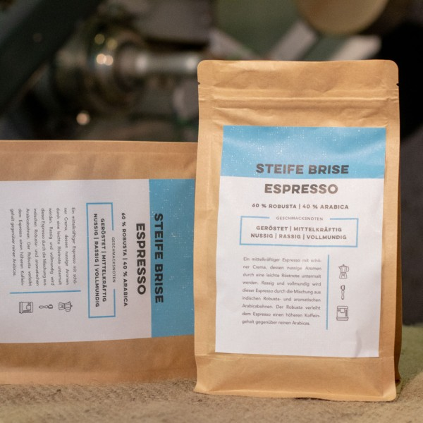 Kaffee Steife Brise Espresso