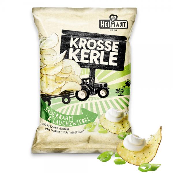 Krosse Kerle – Sauerrahm & Lauchzwiebel