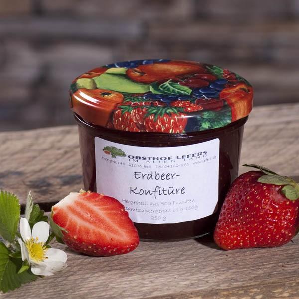 Erdbeer-Konfitüre