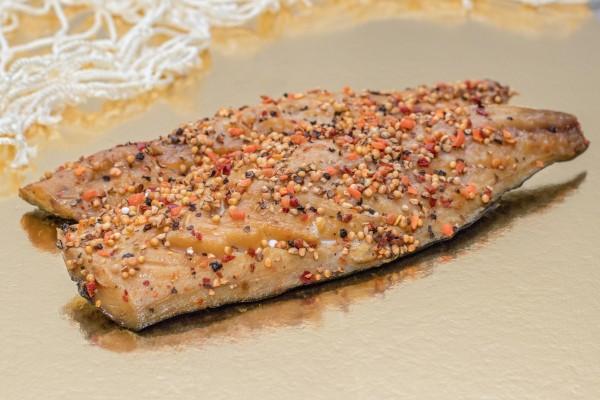 Makrelenfilet mit Pfeffer