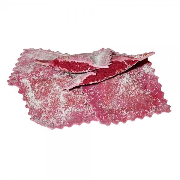 Rote Beete-Frischkäse Ravioli (frisch)