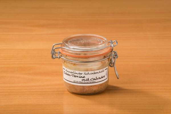 Enten-Terrine mit Calvados im 180g-Bügelglas