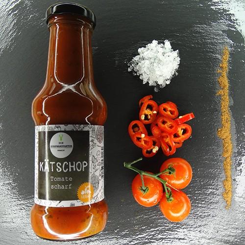 KÄTSCHOP Tomate, scharf