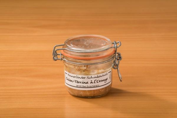 Enten-Terrine a´la´ Orange im 180g-Bügelglas