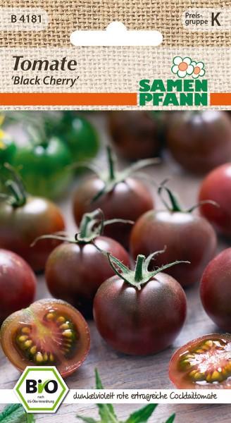 "Bio-Tomate ""Black Cherry"""