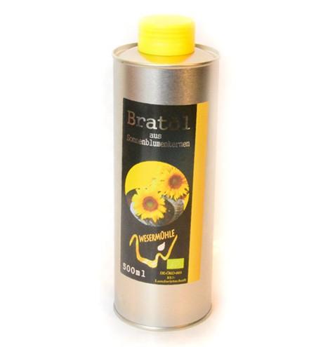 Bratöl desodoriert aus Sonnenblumenöl