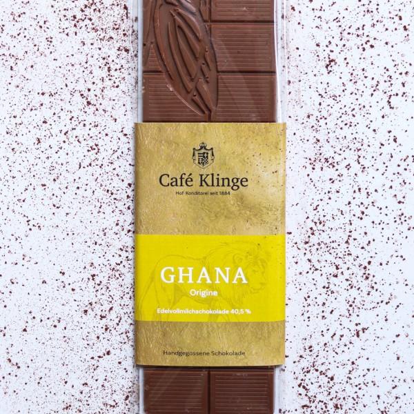 GHANA - Edelvollmilchschokolade 40,5%