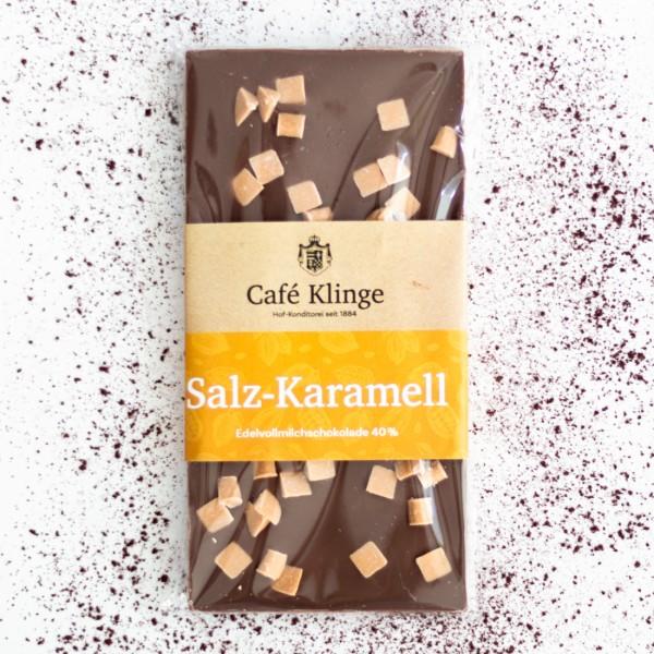Edelvollmilch Salz Karamell 40%
