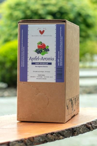 Apfel-Aroniadirektsaft Bag in Box 3,00 l