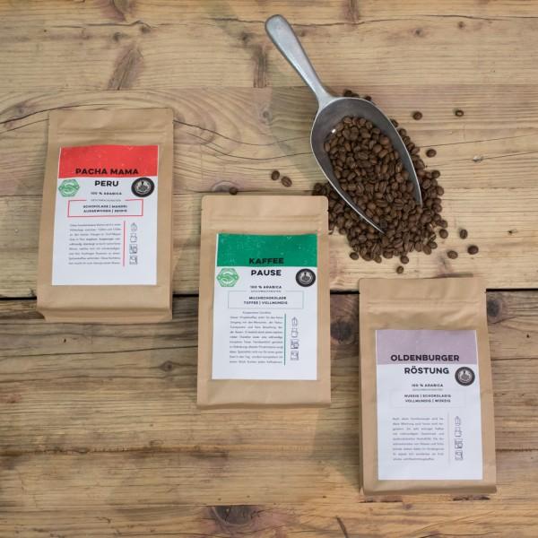 Kaffee - Probierpaket