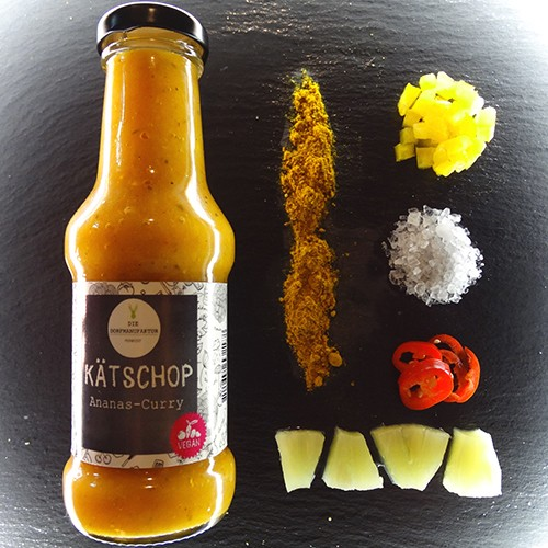 KÄTSCHOP Ananas-Curry