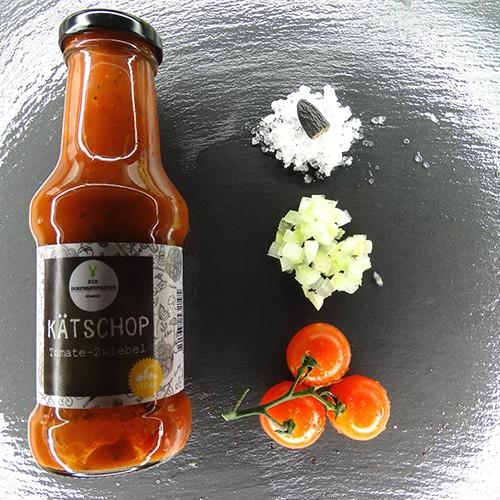 KÄTSCHOP Tomate-Zwiebel
