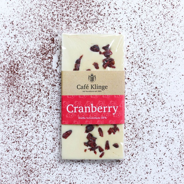 Cranberry Schokolade Café Klinge
