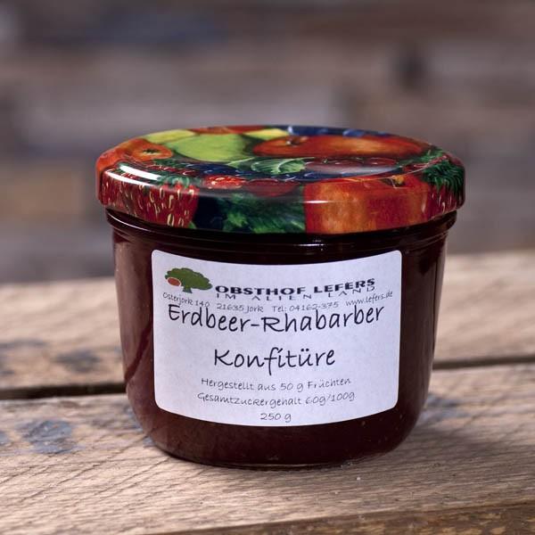 Erdbeer-Rhababer-Konfitüre