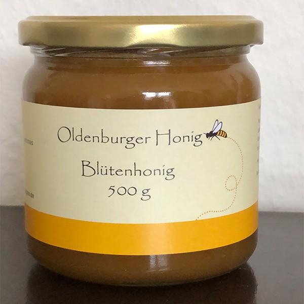 Oldenburger Frühtracht Blütenhonig 500g