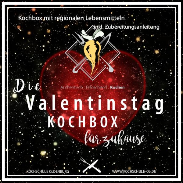 Valentinstag - KOCHBOX mit Huhn