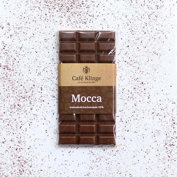 Edelvollmilchschokolade Mocca
