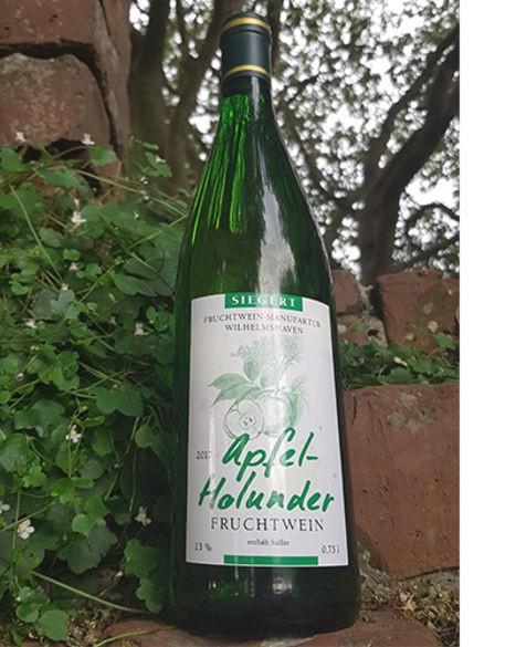 Apfel-Holunderblütenwein 2018, trocken